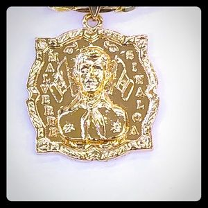 Other - Malverde pendant with chain
